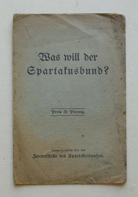 was-will-der-spartakusbund